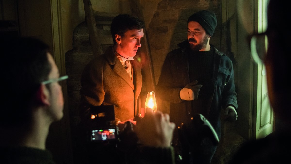 Behind the Scenes of Shooting Backwoods – a short film funded by Falmouth and directed by Ryan Mackfall