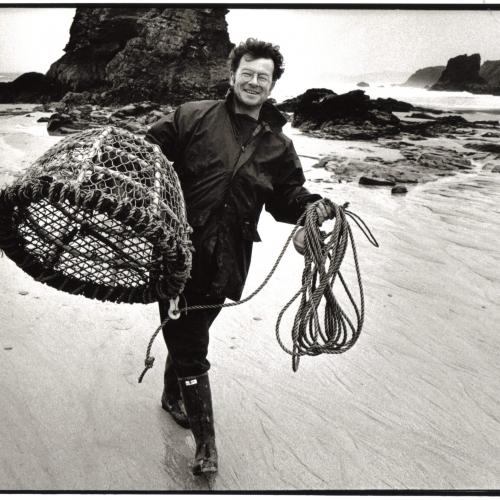 Cornish playwright Nick Darke