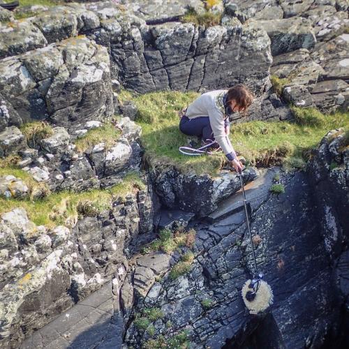 Bronwen Buckeridge recording sounds