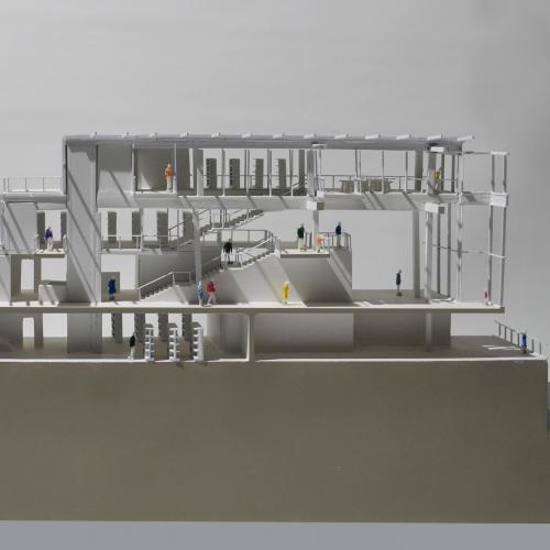 Architecture design by graduate Freddie Hutchinson