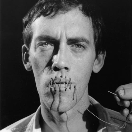David Wojnarowicz, Andreas Sterzing. Silence = Death, New York, 1989.