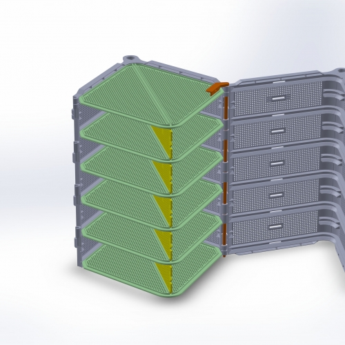 Digital drawing of SBCC design