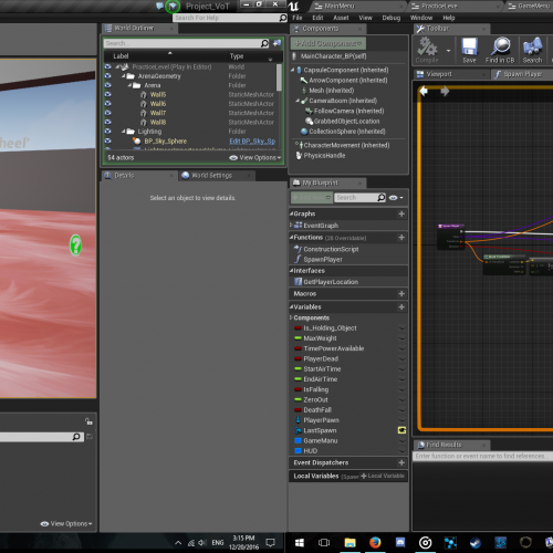 .Screen shots of gaming artwork in progress.