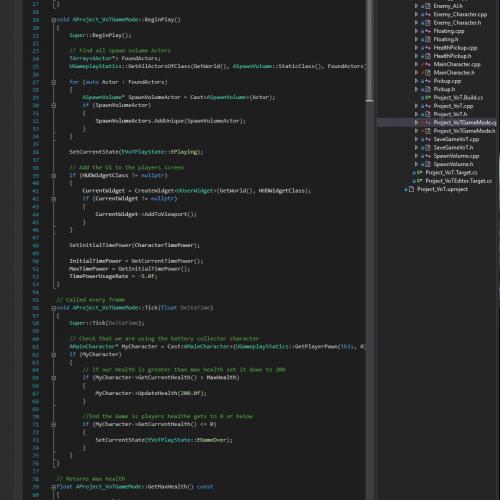 A screenshot of coding.