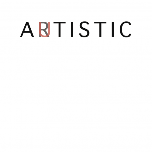 The word Artistic transformed into Autistic