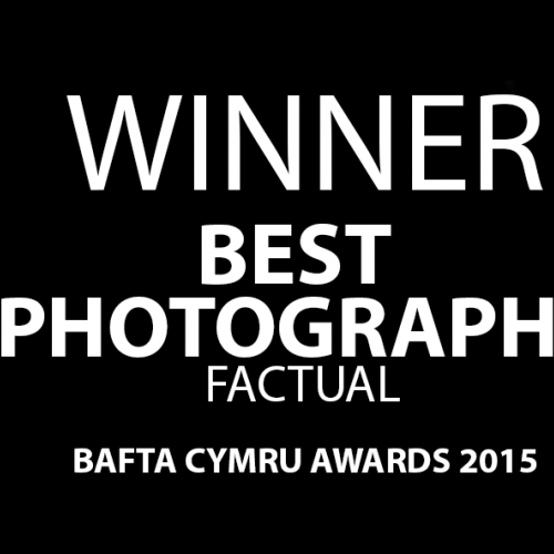 BAFTA poster ' Winner Best Photography Factual'