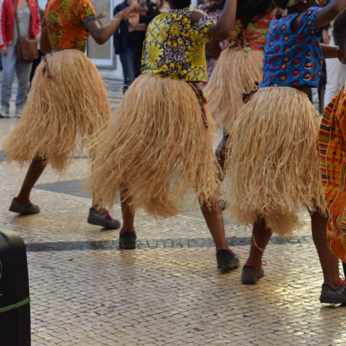 Dancers in Guinea Bassau