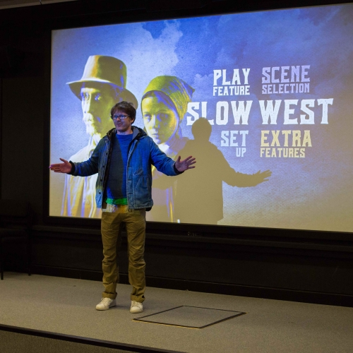Director and School of Film & Television guest lecturer John Maclean introduces a screening of his feature 'Slow West' starring Michael Fassbender