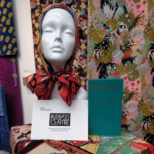 mannequin and fabric