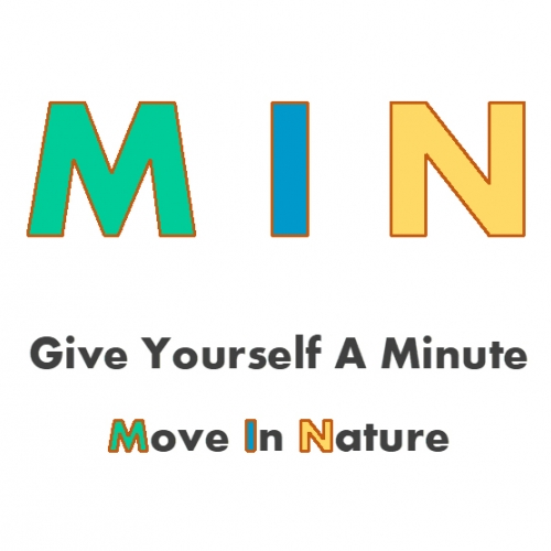 'MIN: Give yourself a minute to move' title slide