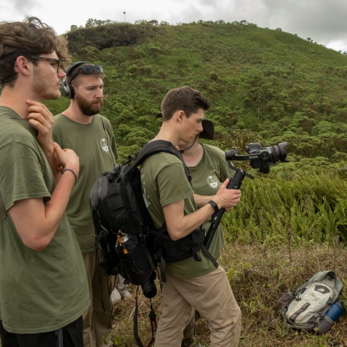 MNHP_Filming on the Galapagos