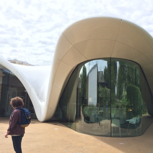 The curvy architecture of the Serpentine Sackler Gallery