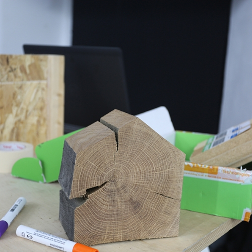 Wood discussed during the presentation