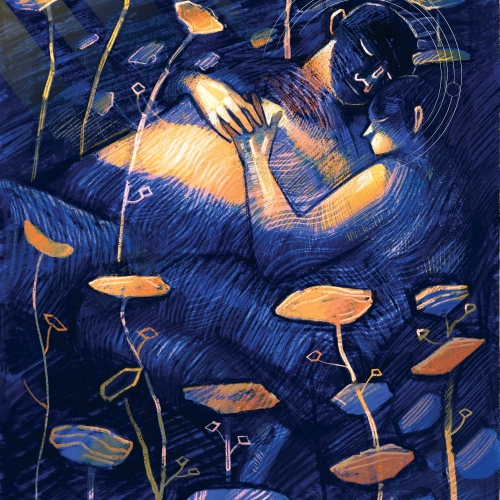 Illustration by student Amita Sevellaraja