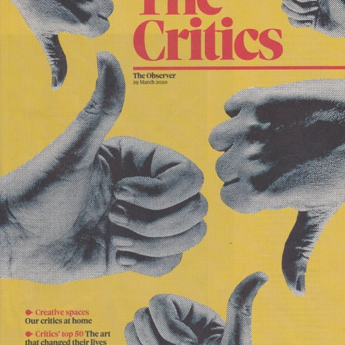 The Critics supplement front page