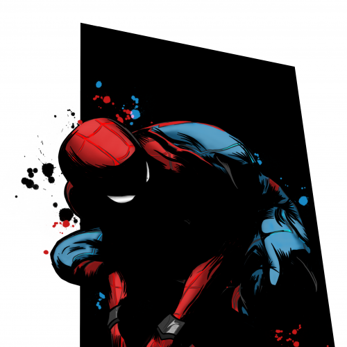 Spiderman cartoon illustration